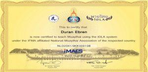 IGLA Certificaat KHRU